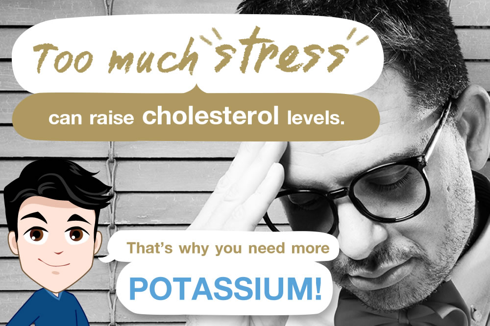 Is there a link between stress and cholesterol?
