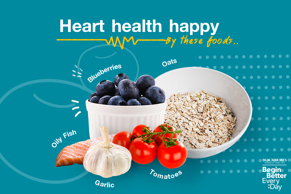 5 foods for heart health