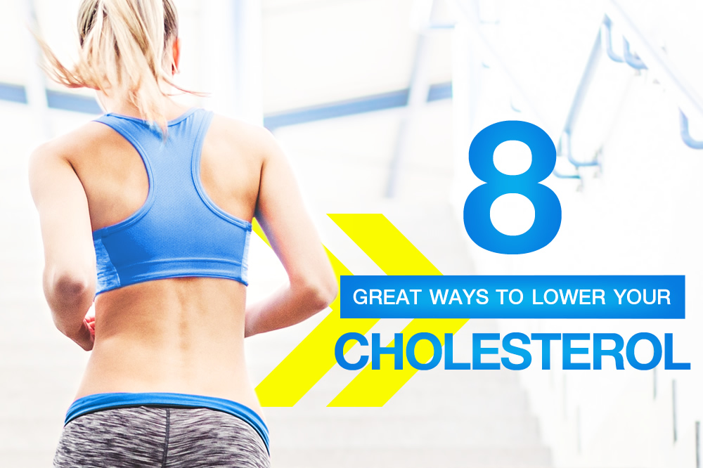 Eight great ways to lower your cholesterol